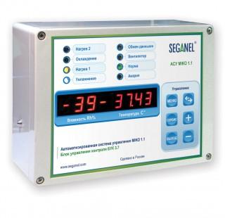 Cистема управления и контроля микроклиматом в инкубатории MIKO 1.1