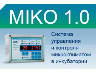 Cистема управления и контроля микроклиматом в инкубатории MIKO 1.0